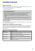 Sony MHS-PM5 - MHS-PM5 Istruzioni per l'uso Danese - Page 5