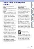 Sony MHS-FS1 - MHS-FS1 Istruzioni per l'uso Portoghese - Page 3