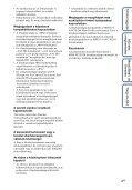 Sony MHS-FS1 - MHS-FS1 Istruzioni per l'uso Ungherese - Page 4