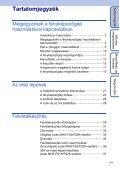 Sony MHS-FS1 - MHS-FS1 Istruzioni per l'uso Ungherese - Page 7