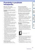 Sony MHS-FS1 - MHS-FS1 Istruzioni per l'uso Ceco - Page 3