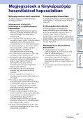 Sony MHS-TS10 - MHS-TS10 Istruzioni per l'uso Ungherese - Page 3
