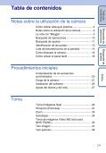 Sony MHS-TS10 - MHS-TS10 Istruzioni per l'uso Spagnolo - Page 7