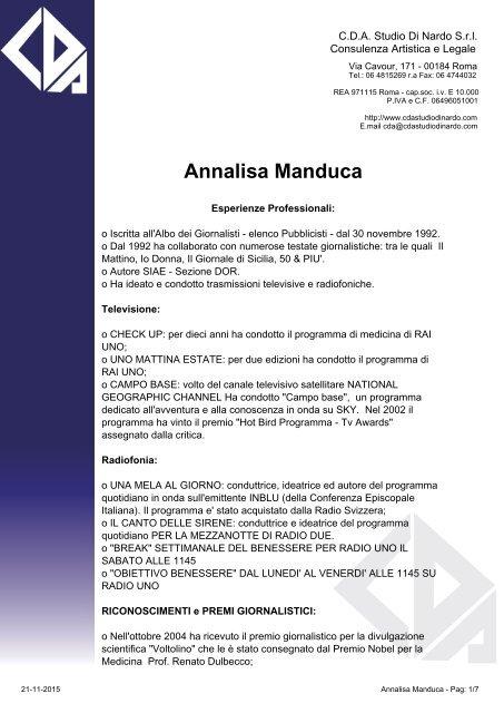 Annalisa Manduca