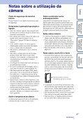 Sony MHS-TS10 - MHS-TS10 Istruzioni per l'uso Portoghese - Page 3