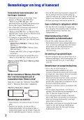 Sony MHS-CM5 - MHS-CM5 Istruzioni per l'uso Danese - Page 2