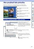 Sony MHS-TS20K - MHS-TS20K Istruzioni per l'uso Slovacco - Page 2