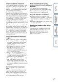 Sony MHS-FS3K - MHS-FS3K Istruzioni per l'uso Rumeno - Page 4