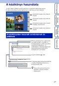 Sony MHS-FS3K - MHS-FS3K Istruzioni per l'uso Ungherese - Page 2