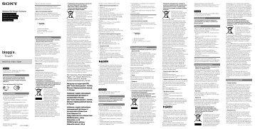 Sony MHS-TS20K - MHS-TS20K Istruzioni per l'uso Ucraino