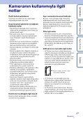 Sony MHS-TS20K - MHS-TS20K Istruzioni per l'uso Turco - Page 3