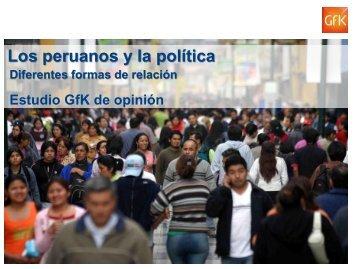 Los peruanos y la política