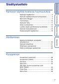 Sony MHS-TS10 - MHS-TS10 Istruzioni per l'uso Finlandese - Page 7