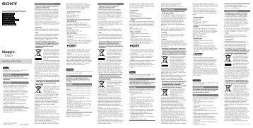 Sony MHS-TS20K - MHS-TS20K Istruzioni per l'uso Polacco