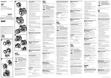 Sony LA-EA4 - LA-EA4 Istruzioni per l'uso Russo