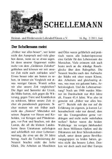 Der Schellemann meint Der Schellemann meint - Heimat- und ...
