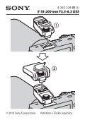 Sony SAL1855 - SAL1855 Istruzioni per l'uso Slovacco - Page 4