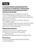 Sony SAL1855 - SAL1855 Istruzioni per l'uso Slovacco - Page 5