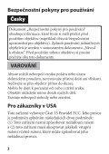 Sony SAL1855 - SAL1855 Istruzioni per l'uso Slovacco - Page 6