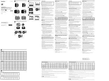 Sony SAL50M28 - SAL50M28 Istruzioni per l'uso Ucraino