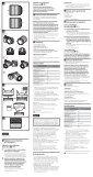 Sony SEL55F18Z - SEL55F18Z Istruzioni per l'uso Finlandese - Page 2