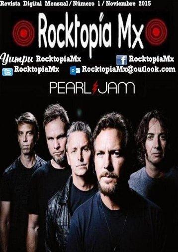 Rocktopía Mx - Número 1 - Noviembre 2015.
