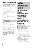 Sony HDR-PJ530E - HDR-PJ530E  Croato - Page 2