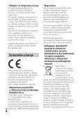 Sony HDR-PJ530E - HDR-PJ530E  Croato - Page 4