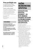 Sony HDR-PJ530E - HDR-PJ530E  Serbo - Page 2