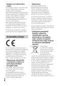 Sony HDR-PJ530E - HDR-PJ530E  Serbo - Page 4