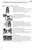 Sony DCR-SX73E - DCR-SX73E Istruzioni per l'uso Portoghese - Page 6