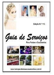REVISTA TUDO PARA FESTAS E CASAMENTOS N.º 113