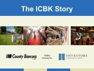 The ICBK Story
