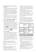 Sony DCR-SX45E - DCR-SX45E Istruzioni per l'uso Croato - Page 7
