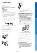 Sony DCR-SX45E - DCR-SX45E Istruzioni per l'uso Svedese - Page 3