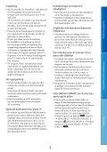 Sony DCR-SX45E - DCR-SX45E Istruzioni per l'uso Svedese - Page 4