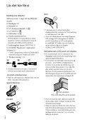 Sony HDR-XR350E - HDR-XR350E Istruzioni per l'uso Svedese - Page 2