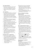 Sony HDR-XR350E - HDR-XR350E Istruzioni per l'uso Svedese - Page 3
