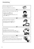 Sony HDR-XR350E - HDR-XR350E Istruzioni per l'uso Svedese - Page 6