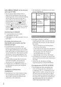 Sony DCR-SX15E - DCR-SX15E Istruzioni per l'uso Svedese - Page 4