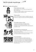 Sony DCR-SX15E - DCR-SX15E Istruzioni per l'uso Svedese - Page 7