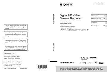 Sony HDR-PJ580E - HDR-PJ580E Istruzioni per l'uso Danese