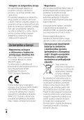 Sony HDR-CX405 - HDR-CX405 Istruzioni per l'uso Croato - Page 4