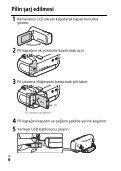 Sony HDR-PJ240E - HDR-PJ240E Istruzioni per l'uso Turco - Page 6