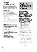 Sony HDR-PJ240E - HDR-PJ240E  Estone - Page 2