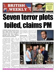 Seven terror plots foiled claims PM