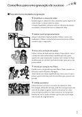 Sony DCR-SX53E - DCR-SX53E Istruzioni per l'uso Portoghese - Page 7