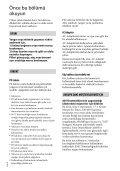 Sony HDR-PJ220E - HDR-PJ220E Istruzioni per l'uso Turco - Page 2