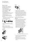 Sony HDR-CX350E - HDR-CX350E Istruzioni per l'uso Portoghese - Page 2