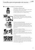 Sony HDR-CX350E - HDR-CX350E Istruzioni per l'uso Portoghese - Page 7